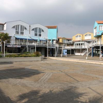 Quartier coloré autour du vieux port