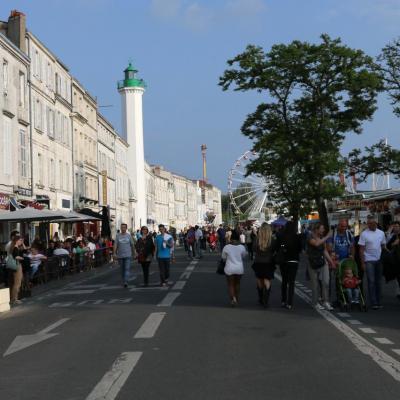 Autour du port de la Rochelle