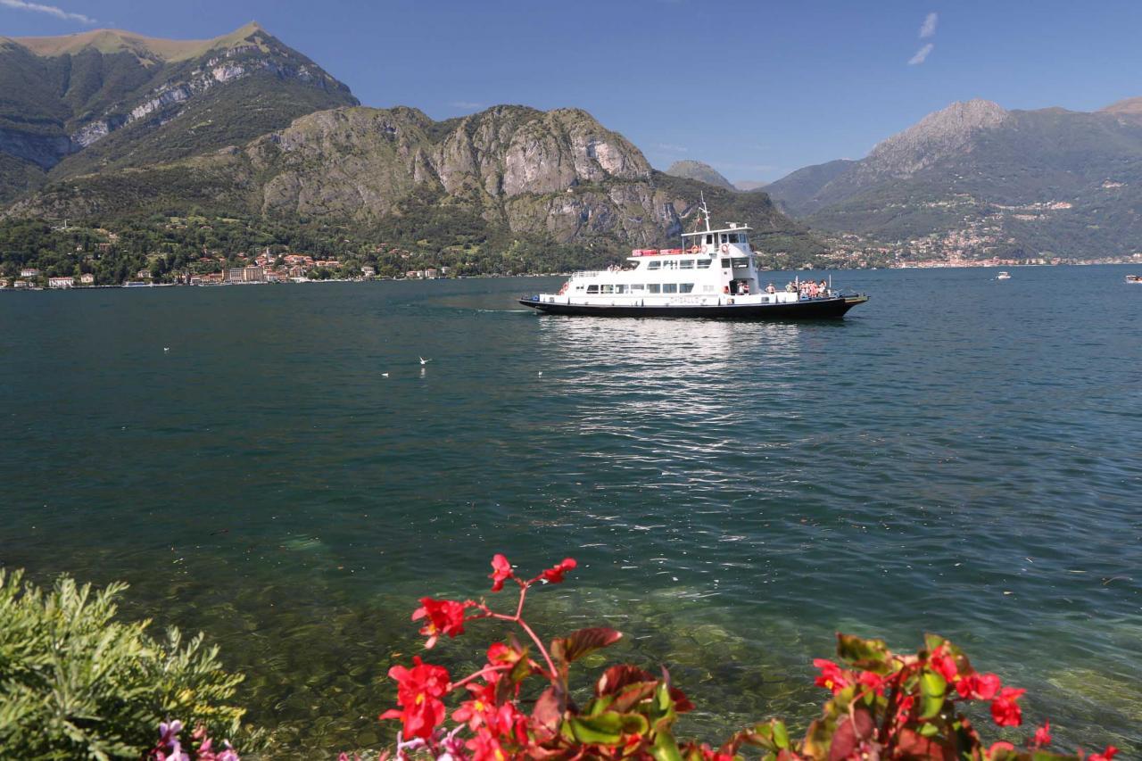 Bellagio, un panorama à 360° magnifique