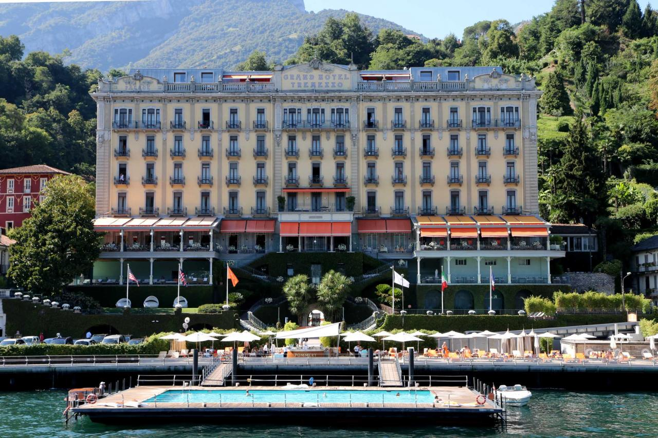 l'hôtel ***** en face de Bellagio