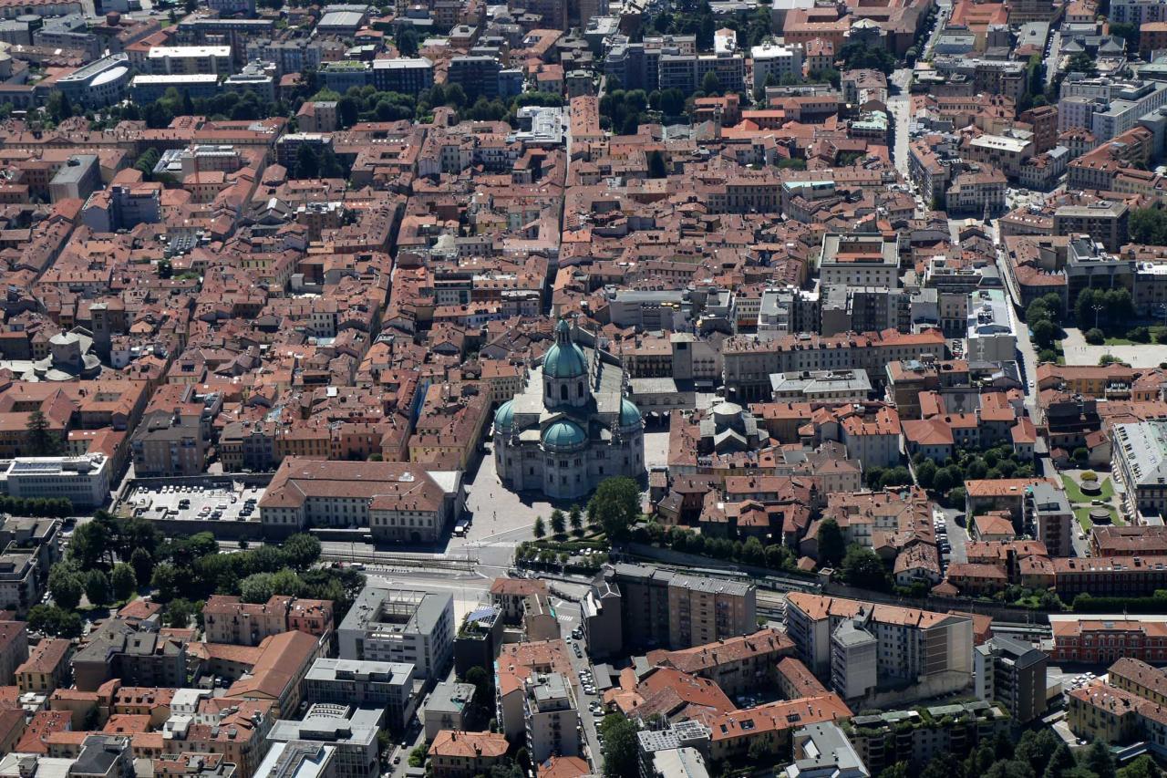 Le Duomo (cathédrale), véritable symbole de Côme