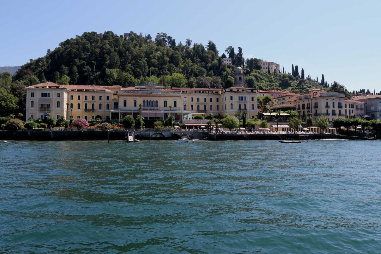 les hôtels de luxe Bellagio