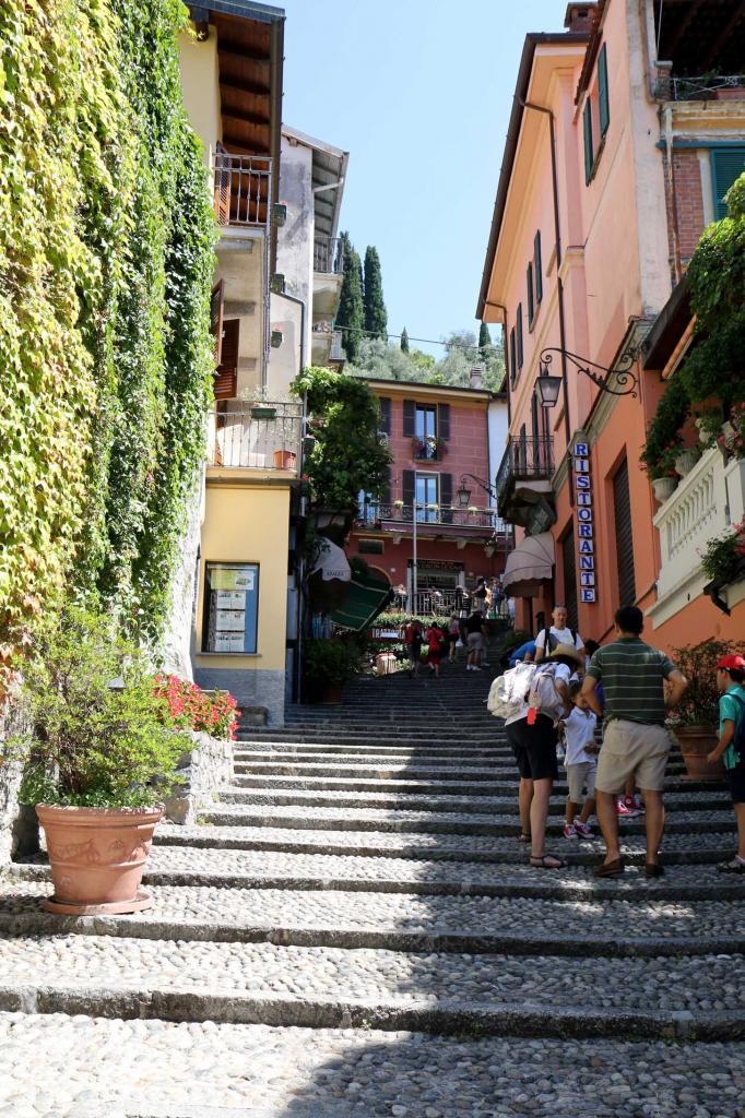 Il est très agréable d'aller flâner dans les ruelles de Bellagio