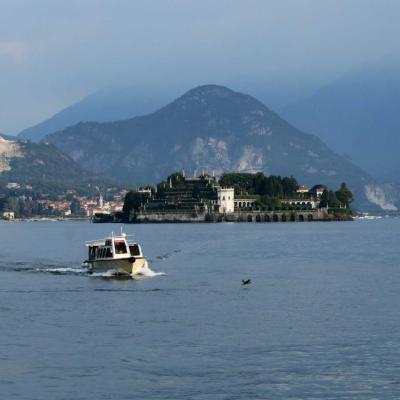 non loin de Stresa, 1ère escale sur cet archipel : Isola Bella