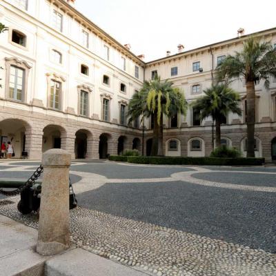 Même le Palais (palazzo du XVIIe siècle) n'est pas encore ouvert