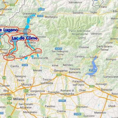 LES LACS ITALIENS (Lombardie) AOÛT 2016