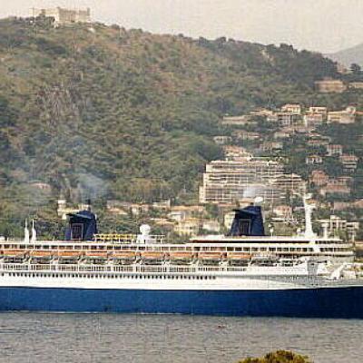 le France rebaptisé Norway à Villefranche en 1998