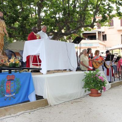 Messe en plein air pour la fête de la St Pierre