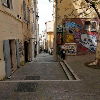 Le quartier du Panier est le plus vieux de Marseille.