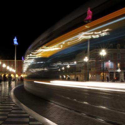 Le tramway fantôme de Nice ...