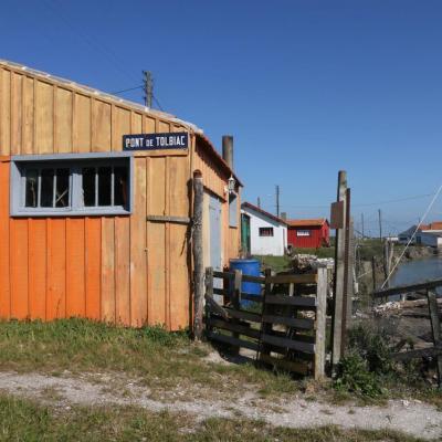 Les cabanes de créateurs à Dolus d'Oléron (La Baudissière)