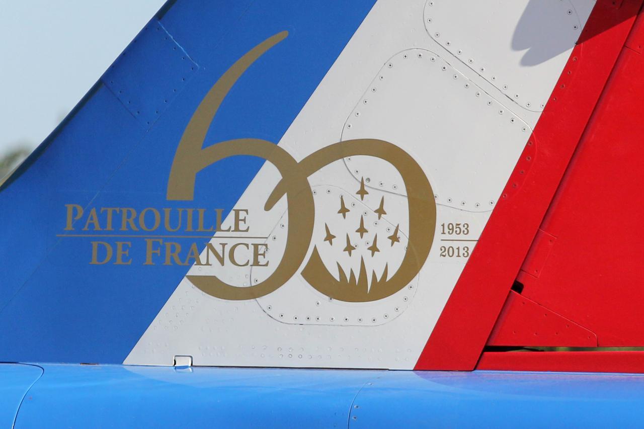 60 ans de la Patrouille de France à Salon de Provence