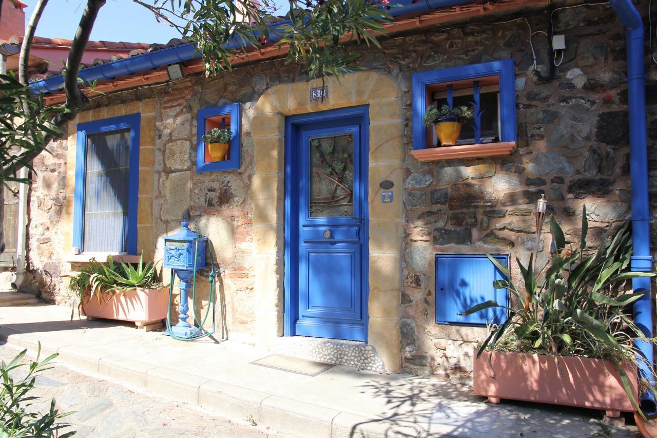 bleu comme ... la petite maison bleue à Collioure