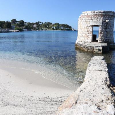 plage des ondes sur le Cap d'Antibes (2)