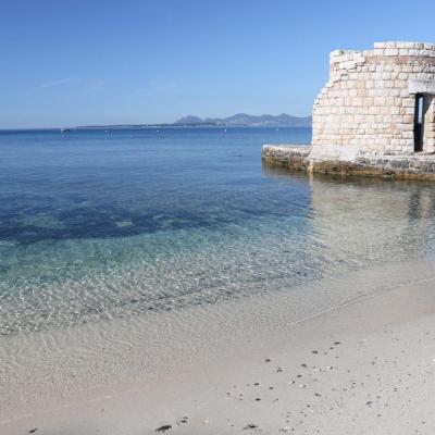 plage des ondes sur le Cap d'Antibes (3)