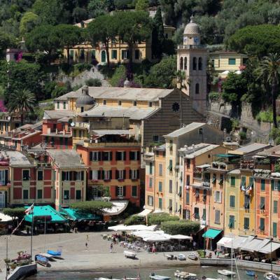 Les belles façades de Portofino