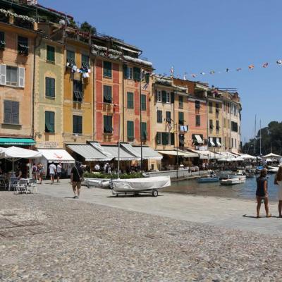 Portofino, petit port de pêche très prisé de la Jet-set