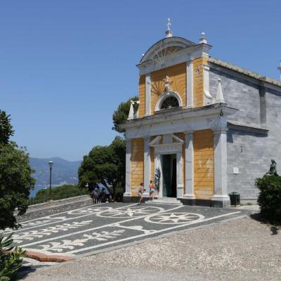 l'église San Giorgio et un excellent panorama sur tout le village