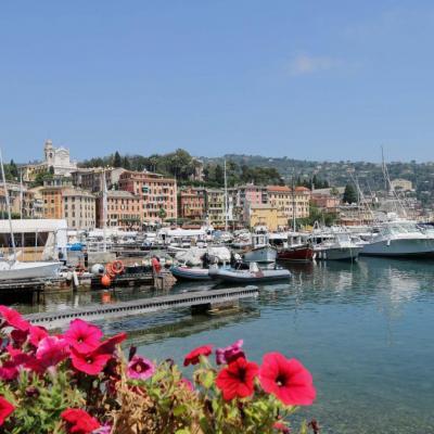 Santa Margherita, station balnéaire qui rappelle la Côte d'Azur