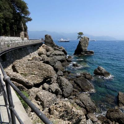 5,4 kms de promenade entre Ste Margherita et Portofino