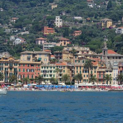 Santa Margherita, la porte d'entrée du parc naturel de Portofino