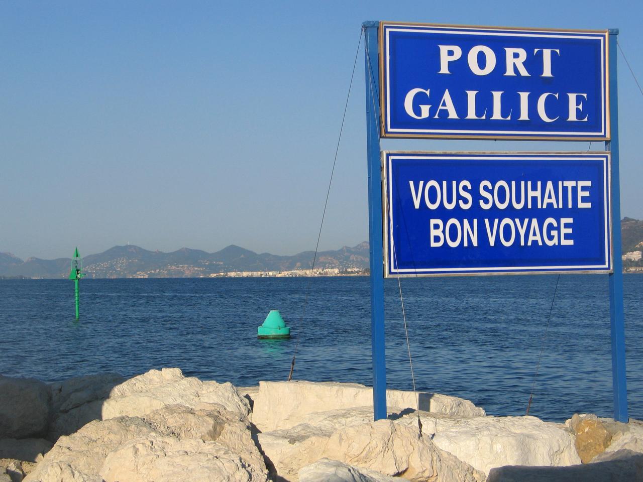 bleu comme ... Port Gallice