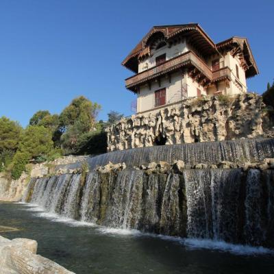 Cascade de Gairaut, chute d'eau artificielle construite au XIXè siècle