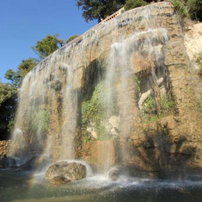 La cascade du château de Nice