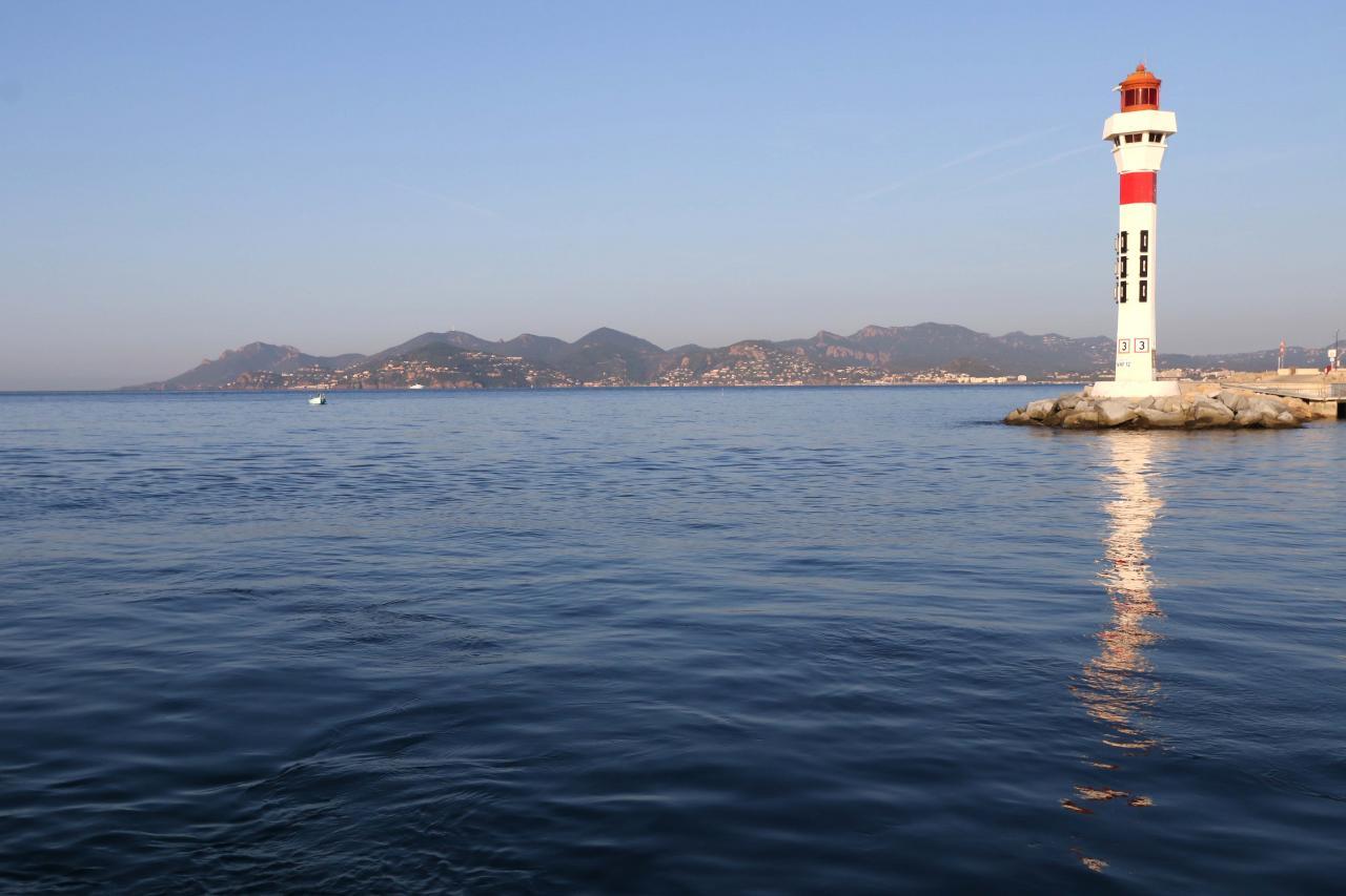 île Sainte-Marguerite - départ de Cannes 7h30