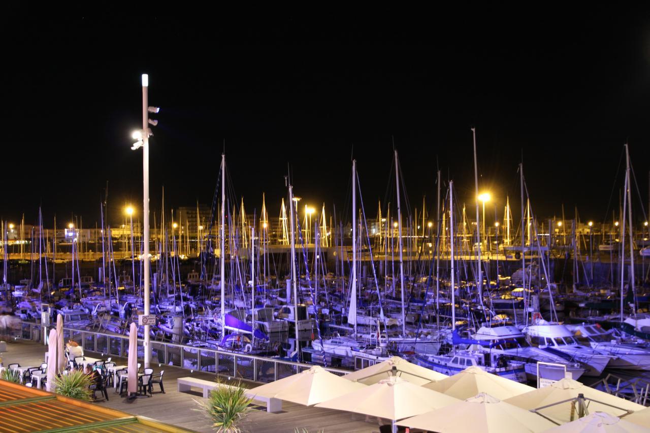 bleu comme ... les spots bleus du port de Royan