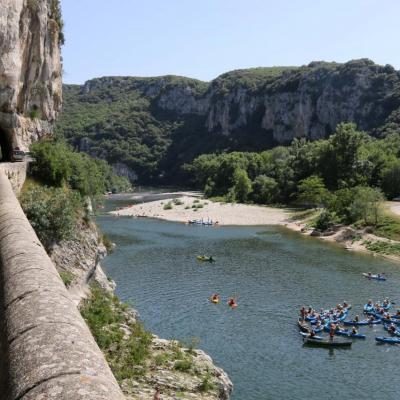 L'Ardèche du nord au sud ! après Annonay : Vallon Pont d'Arc