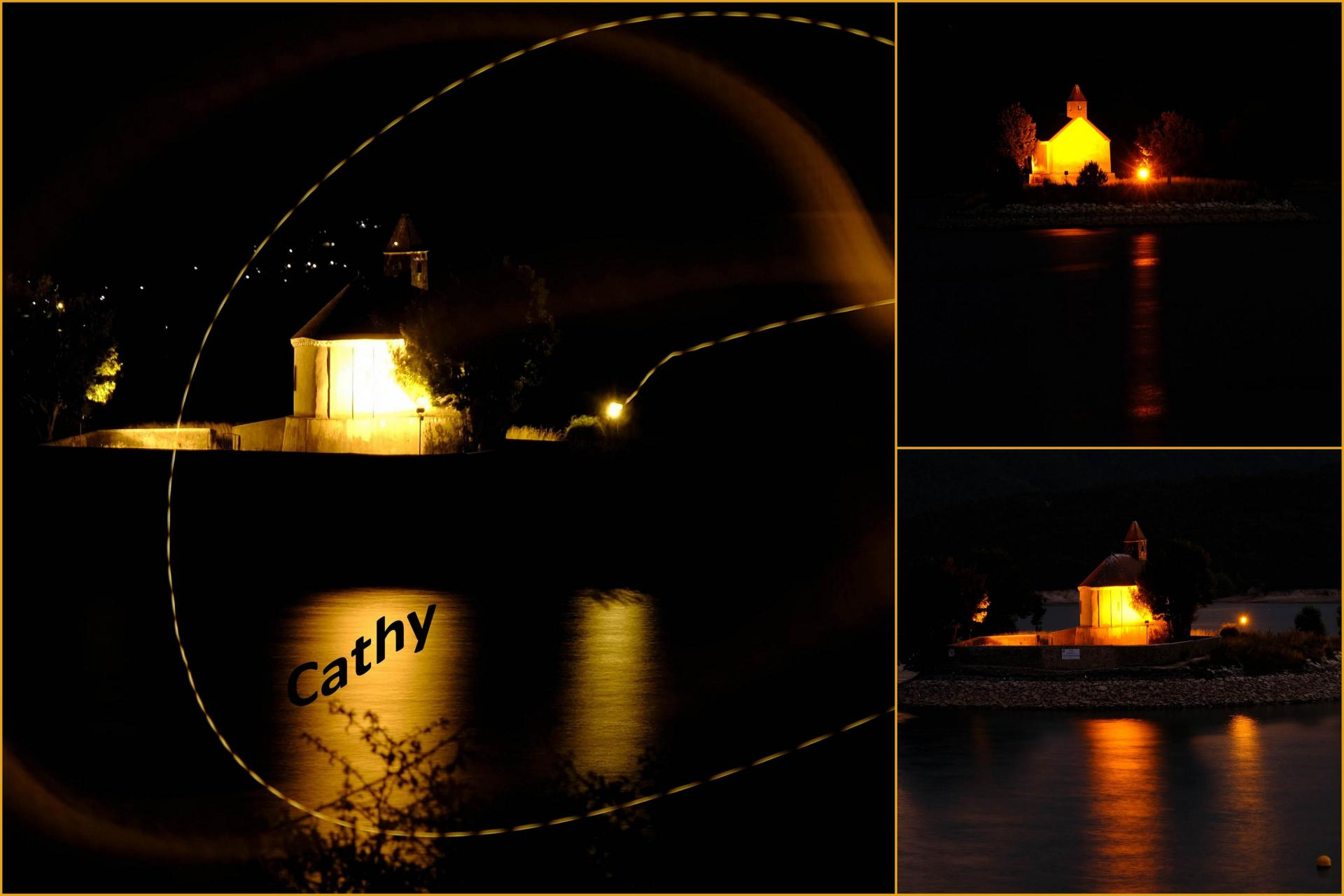chapelle by  night