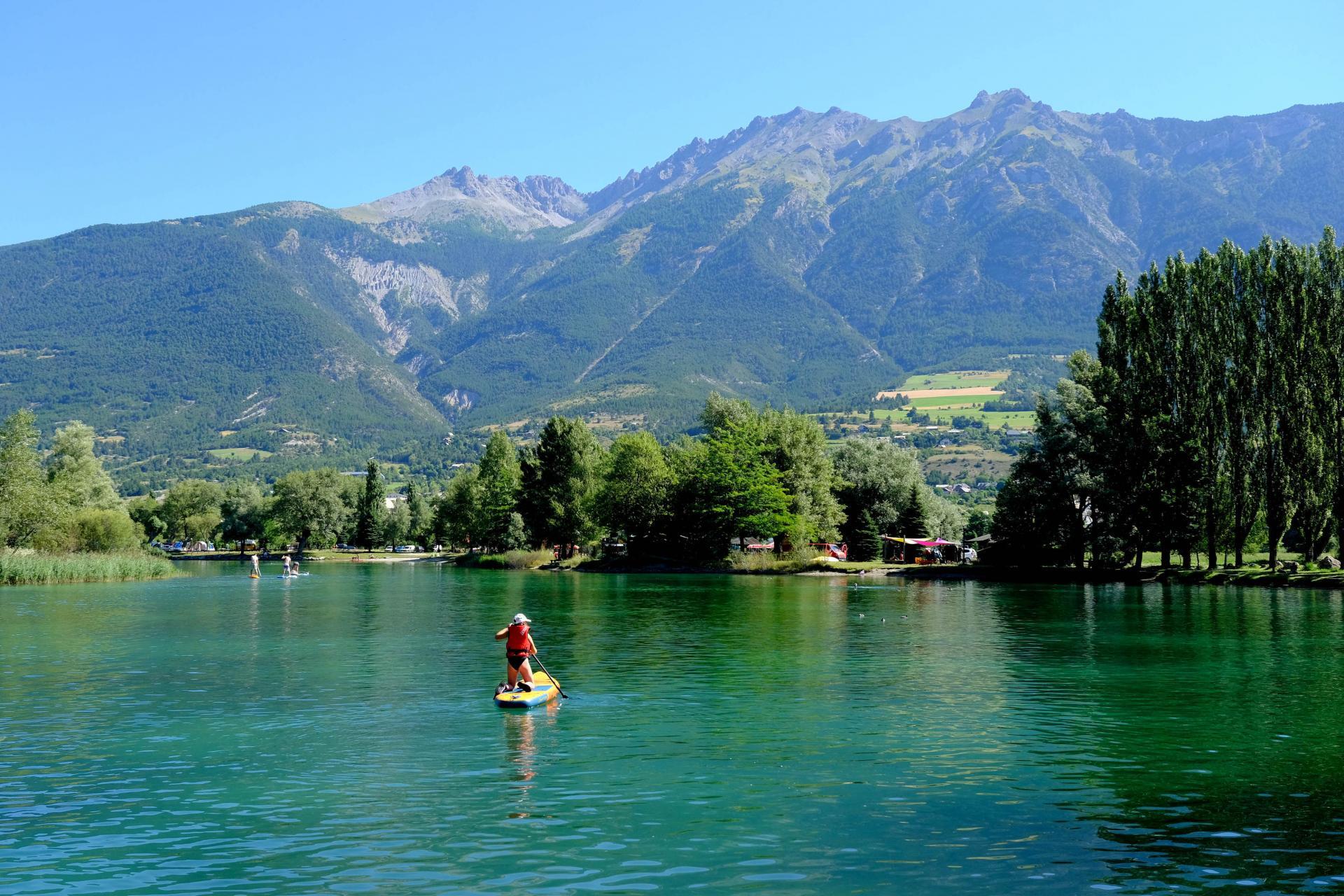 Eygliers, spot idéal pour le paddle ou le kayak