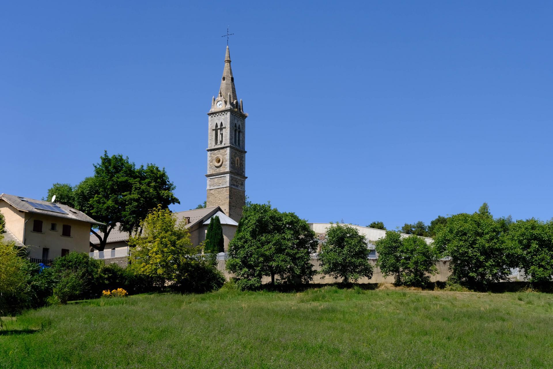 La Bréole, église du Charamel de 1617