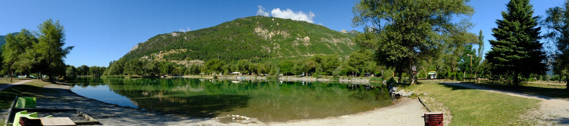 Eygliers, le lac