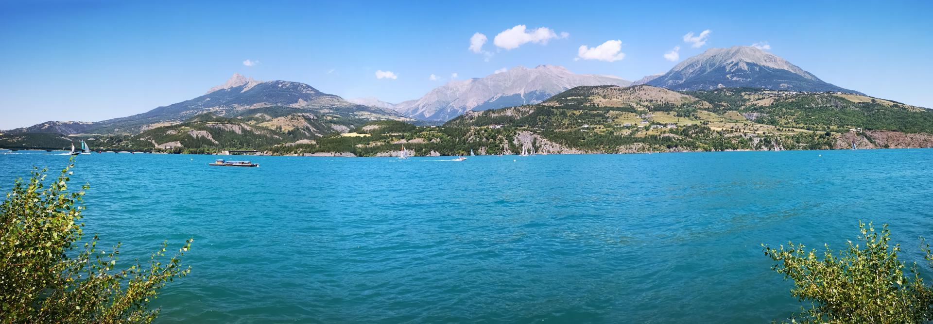 Panorama vu de Savines le Lac