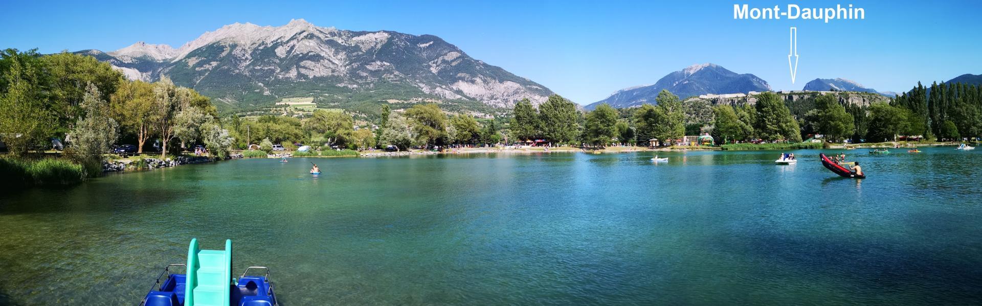Eygliers le lac, aux portes du Queyras